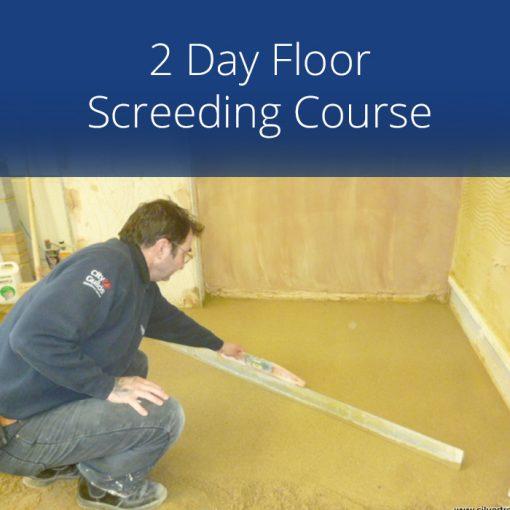2 Day Floor Screeding Course