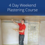 4 Day Weekend Plastering Course