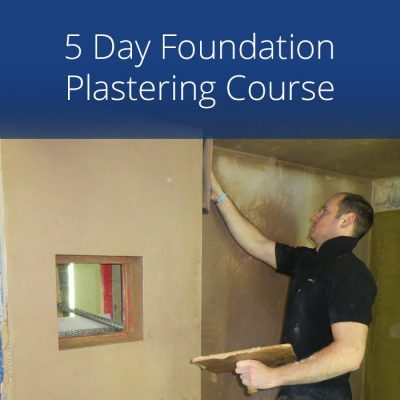 5 Day Foundation Plastering Course