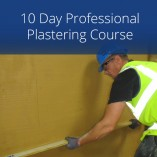 10 Day Professional Plastering Course