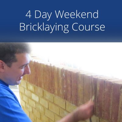 4 Day Weekend Bricklaying Course