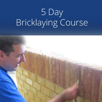 5 Day Bricklaying Course