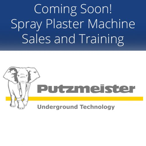 Spray Plaster Machine Sales and Training